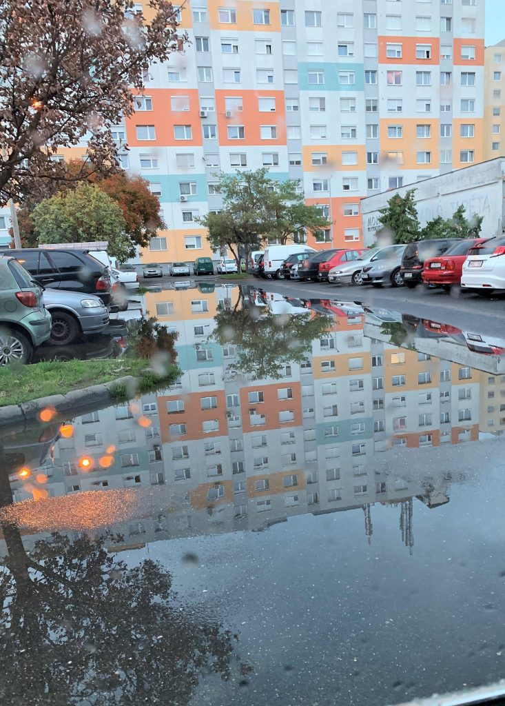 Esőzés utáni állapotok napokig